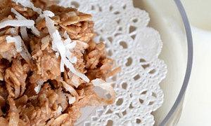 Cookies dừa thơm phức béo ngậy nhìn như xôi