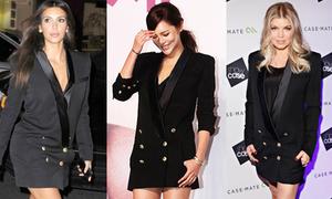 Kim, Fergie đụng Hoa hậu Hàn váy 'giấu quần'