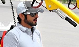 Ngắm hoàng tử Dubai đẹp trai ngời ngời