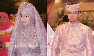 Đám cưới cổ tích của công chúa Brunei