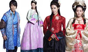 Cổ trang Hàn tạo hình như phim chưởng Trung Quốc