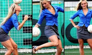 Người đẹp đầu tiên làm HLV bóng đá nam