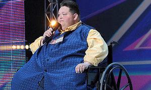 Chàng béo 250 kg gây sốt ở X Factor