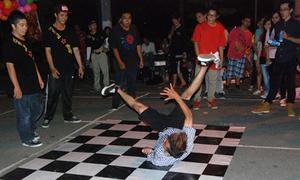 Teen Sài Thành nhảy Hip hop , breakdance vui trăng rằm