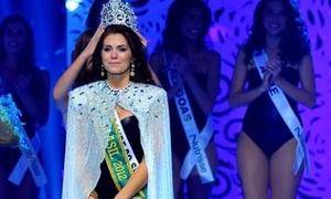 Tân Hoa hậu Brazil mặc bikini đăng quang