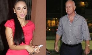 Thu Minh 'phớt lờ' chồng chưa cưới ở The Voice