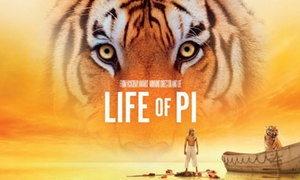 'Life of Pi' hé lộ clip đụng độ giữa người và hổ