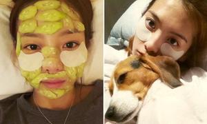 Các kiểu mặt nạ làm đẹp của sao Hàn