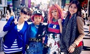 Diễm Trang mê mẩn dạo phố thời trang Harajuku