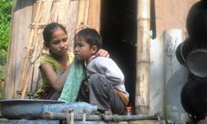 Hình ảnh xót lòng về học trò Việt (2)