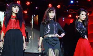 Dàn hot girl Sài thành 'đọ' catwalk tại tiệc Halloween