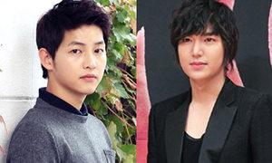 Lee Min Ho và Song Joong Ki chỉ thèm ngủ