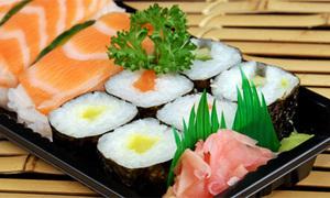 Học cách ăn sushi đúng chất sành điệu qua hình nè