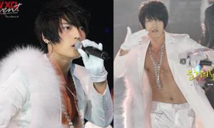 Những bộ cánh 'sáng bừng' sân khấu của Jae Joong