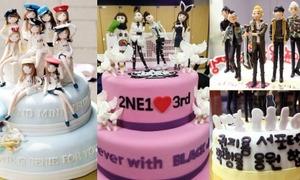 15 chiếc bánh siêu kute fan tặng sao Kpop