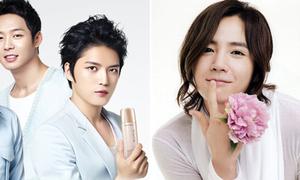 Mỹ nam Hàn đọ mặt láng coóng trên quảng cáo mỹ phẩm