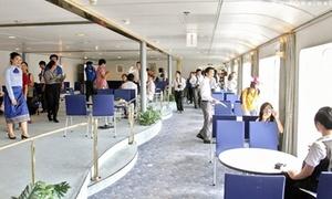 Nội thất hoành tráng trên tàu Thanh niên Đông Nam Á