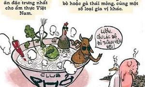 Cười cay đắng với tranh Hà Nội của họa sĩ 'Sát thủ đầu mưng mủ'