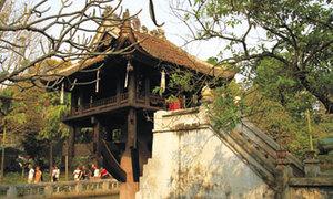 Chùa Một Cột kiến trúc độc đáo nhất Châu Á