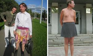 Người đàn ông bị đuổi việc vì thích mặc váy