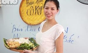Bún đậu cô Khàn - quán ngon của chân dài Trang Trần