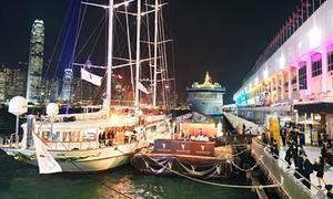 Tàu siêu sang 35 triệu đô lần đầu cập bến Việt Nam