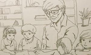 Clip 'Người thầy' khiến teen sụt sùi cảm động