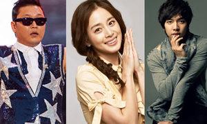 Những ông vua bà chúa trong ngành quảng cáo Hàn 2012
