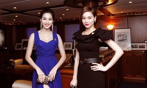 Hồ Ngọc Hà 'cạnh tranh' nhan sắc Hoa hậu Việt Nam 2012