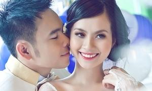 Miss Teen Huyền Trang tung ảnh cưới đẹp lung linh