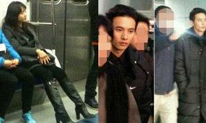 Ảnh hiếm có sao Hàn đi tàu điện