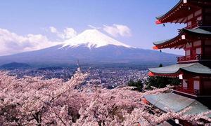 Những góc đẹp mê hồn của núi Phú Sĩ