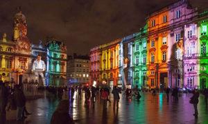 Lyon đẹp tuyệt trong Lễ hội ánh sáng trước Giáng sinh