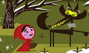 Giao diện Google thành truyện cổ Grim cực dễ thương