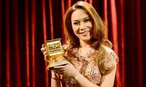 Mỹ Tâm vượt Hà Hồ giành giải 'Gương mặt của năm'