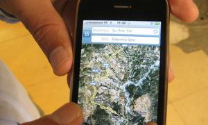 'Thảm họa' bản đồ là ứng dụng iPhone được dùng nhiều nhất 2012