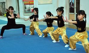 Đột nhập lớp học võ của hoa khôi wushu Mai Phương