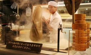 Đứng xì xụp mỳ ở các nhà ga Nhật Bản