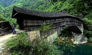 Cầu gỗ nghìn năm tuổi kiên cố lạ thường