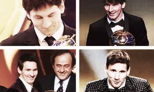 Lionel Messi càng ngày càng chải chuốt