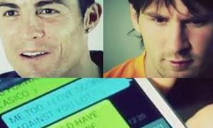Messi gửi tin nhắn 'khiêu chiến' Ronaldo