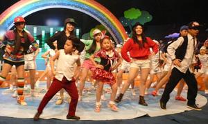 Clip cực hot: 'Psy nhí' đọ tài cùng Đăng Quân Got Talent