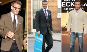 David Beckham mặc đẹp thứ 3 thế giới