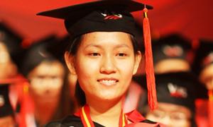 Nữ sinh đạt điểm gần tuyệt đối TOEFL iBT