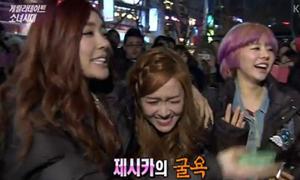 Jessica SNSD xấu hổ khi bị fan nam từ chối ôm