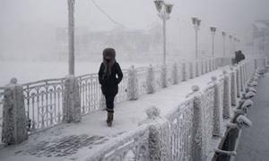 Cuộc sống ở nơi lạnh giá -71,2 độ C