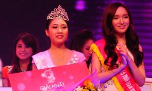 Nữ sinh Hà thành đăng quang Miss Teen trong nước mắt