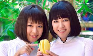 10 clip thời tuổi teen của Ngọc Linh, Diễm Quyên