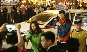 Clip: Fan vây kín khu Keangnam đón Running Man