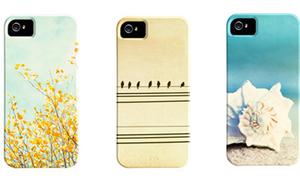 Khoác 'áo hoa' cho iPhone 5 đón Tết